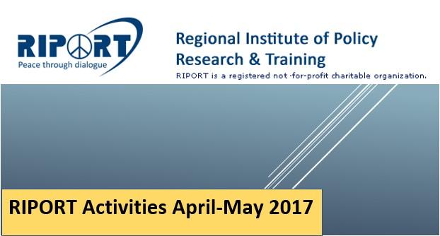 Riport recent activities 2017